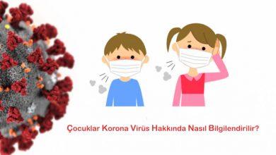 Çocuklar Korona Virüs Hakkında Nasıl Bilgilendirilir