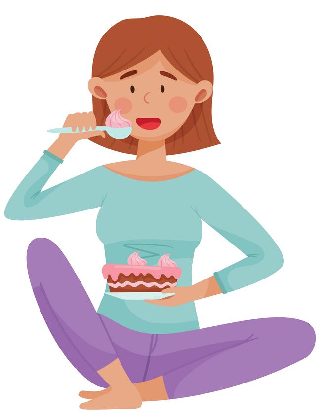 Stres Olduğunuzda Yemek Yiyorsunuz